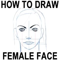 Step how to draw female girls face proportions How to Draw Female Faces in Correct Proportions with Easy Drawing Lesson