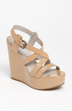 Vera Wang Lavender 'Pippa' Sandal. The woman can do no design wrong, apparently. These are perfect!