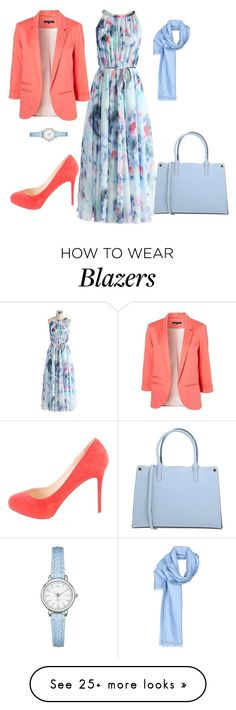 """""""Untitled #89"""" by asner-bond on Polyvore featuring Chicwish, Fendi, Christian Louboutin and Manoukian"""