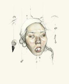 Haejung Lee illustrations @ tumblr_n3tyy4r1cm1rfltouo3_400.jpg (391×480)