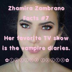 Zhamira Zambrano Facts#7 🇻🇪