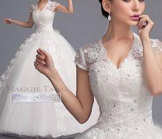 svadobné šaty jemne trblietavé Menyasszonyi Ruhák 6503124526c
