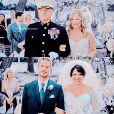 "1,656 Likes, 15 Comments - ga obsessed (@uhhhgreysanatomy) on Instagram: ""≫7.20 ≫ Awh Q: fav wedding? A: calzona """