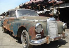 Chauffeur Required: 1959 Mercedes 300D - http://barnfinds.com/chauffeur-required-1959-mercedes-300d/