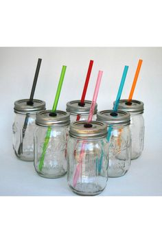 Mason Jar cups, Great Bridesmaid and Groomsmen gifts  on Etsy, $40.00