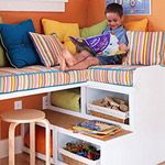 Awesome organization for kids study/room/etc.