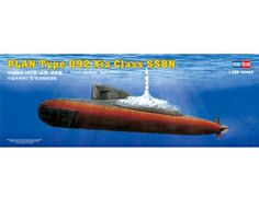 The Hobby Boss PLAN Type 092 XIa Class SSN in 1/350 scale from the plastic submarine model range accurately recreates the real life Chinese submarine. This plastic submarine kit requires paint and glue to complete.