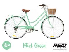 Gorgeous vintage ladies bike in yummy mint green ... I saw the light blue one riding down the road in Carlton so I've changed to blue - it was adorable