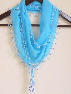 Traditional Turkish AQUA BLUE