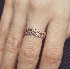 👭Twins! Stackable custom made filigree and bezel set diamond rings!👭 #gsdiamonds #theqvb #sydney #diamond #diamonds #jewellery #engagementring #ring #jewelry #engagement #diamondring #gold #rosegold #whitegold #yellowgold #picoftheday #luxury #accessories #style #ontrend #trend #love #wedding #weddings #smile #beautiful #amazing #instagood