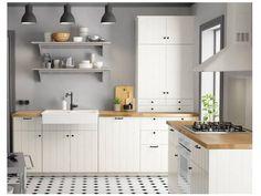 """Résultat de recherche d'images pour """"cuisine ikea hittarp carreaux de ciment"""""""