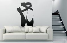 Ballet Shoes Decal / Sticker...    Price : 9.90 EURO ( S&H if applicable)  ... HashTags : #brutalvisual #brutalvisualstudio #handmade #custom #etsy #customdesigns #brutal #ballet #ballerina #pointe #decal #walldecal #sticker #wallsticker #pointeshoes #dancer #balletdancer #flexibility #balletshoes #balletshoesdecal  A ballet shoe or ballet slipper is a lightweight shoe designed specifically for ballet dancing. It may be made from soft leather canvas or satin and has flexible thin soles…