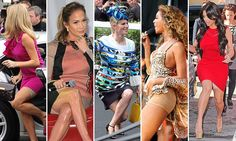 Spot the Spanx: Woman's secret weapon in the battle against the bulge
