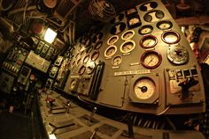 inside old time submarine pictures - Google Search