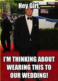 Ok Tim Tebow.  Actually, wear whatever you want, just show up. :)