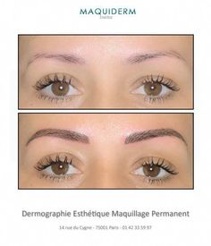 Perfect Eyebrows Made Easy With Semi Permanent Make Up Mircoblading Eyebrows, Permanent Makeup Eyebrows, Eyebrow Makeup, Eyelashes, Beauty Makeup, Eyeliner, Hair Makeup, Hair Beauty, Competition Makeup