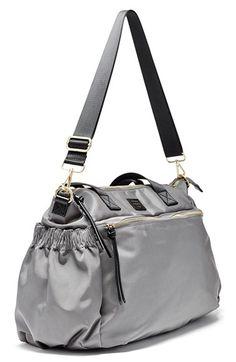 6dec4085115 Hayden-Harnett  Voyager  Water Resistant Nylon Weekend Bag