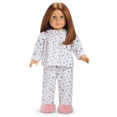 AG American Girl Emily's Pajamas PJs Doll Molly's Friend Retired Sold Out #AmericanGirl #ClothingShoes
