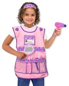 Hair Stylist dress up Costume Set : Easy enough to make!