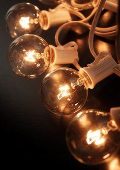 Paper Lantern Lights G40 C7 Bulbs - 25ft