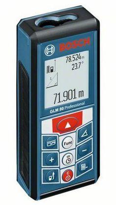 Bosch GLM80 + R60 Lazerli Uzaklık Ölçer + Eğim Ölçer Kombinasyonu