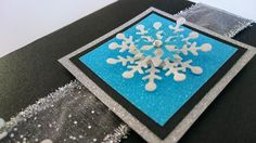 Handmade Christmas Card - Magical Snow Flake. From Creating Special Moments That Last For A Lifetime. Imagine the feeling of being special and unique when you give someone a rare handmade Christmas card?   Order Now
