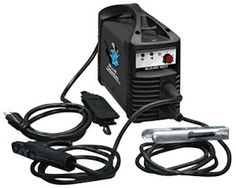 The Blue Demon BLUEARC-90STI 90-Amp Inverter Style Stick and Tig Welding Machine features 115V inverter technology that can be used almost anywhere. This Inverter stick includes a shoulder strap. It is ideal for welding all sorts of carbon steel, stainless steel, cast iron, and hard surfacing. The inverter-based system offers increased power output from a smaller transformer, resulting in an extremely lightweigh