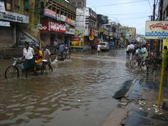 Chirala during the monsoon