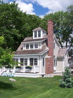 Fore Beach Cottage - beach-style - Exterior - Portland Maine - Peterson Design Group - Architecture Siding color...deck color