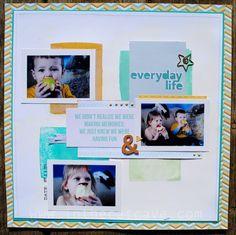 Color Blocking with Stampin' Up! by Cathy Caines