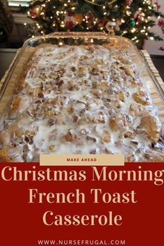 If you are looking for the perfect Christmas morning casserole, look no further! I've started making this recipe a few years ago, and I have since figured out that I can easily make ahead this recipe so that I can relax on Christmas morning. I also love that it's a fast, easy, and simple recipe.…
