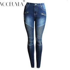 Voobuyla Skinny Biker Jeans Women Hi-Street Ripped Rider Denim Jeans Motorcycle Runway Slim Fit Washed Moto Denim Pants Joggers     Tag a friend who would love this!     FREE Shipping Worldwide     Buy one here---> https://hotshopdirect.com/voobuyla-skinny-biker-jeans-women-hi-street-ripped-rider-denim-jeans-motorcycle-runway-slim-fit-washed-moto-denim-pants-joggers/