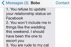 Is This The Most Insane Breakup Text Ever?