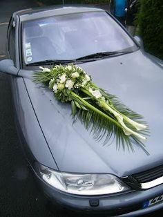 1000 images about le petit blog de fleurs d 39 avenir on pinterest coeur d 39 alene blog and boutiques - Fleuriste decoration voiture mariage ...