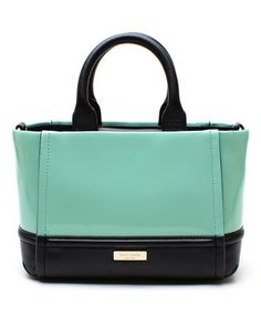 Love this Kate Spade Coastline Gigi Chelsea Park Stripe Patent Leather Satchel by Kate Spade on #zulily! #zulilyfinds