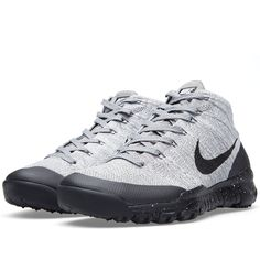Nike Flyknit Trainer Chukka FS (Light Charcoal & Black)