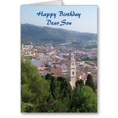 #Landscape #Son #Birthday #Card