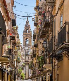 In Palermo, Sicily, Italy.