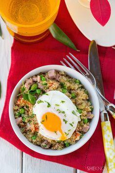 Breakfast quinoa bowl recipe