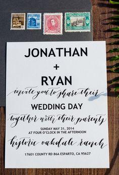 Jonathan & Ryan LGBTQ Styled Shoot || @handhweddings