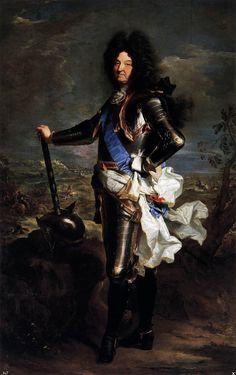 Louis XIV Bourbon King of France 1701 by Hyancinthe Rigaud Museo Nacional del Prado Madrid Louis Xiv, Roi Louis, French History, European History, Art History, Ludwig Xiv, Chateau Versailles, Art Français, Versailles