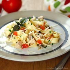 Pappardelle Spaghetti, Pasta Salad, Potato Salad, Potatoes, Ethnic Recipes, Food, Pasta Meals, Noodles, Meat