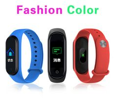 Smart Watch Bracelet Band Fitness Tracker Messages Reminder Color Screen Waterproof Sport Wristband For men women - Sell My Racket Smart Fitness Tracker, Ios 8, App Control, Android 4, Fashion Colours, Smart Watch, Bracelet Watch, Messages, Band