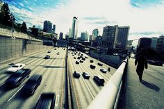 Downtown Seattle Overpass