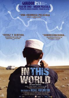 In this world (2002) Reino Unido. Dir: Michael Winterbottom. Drama. Migración. Mafia. Cine social. Road Movie - DVD CINE 1190-III