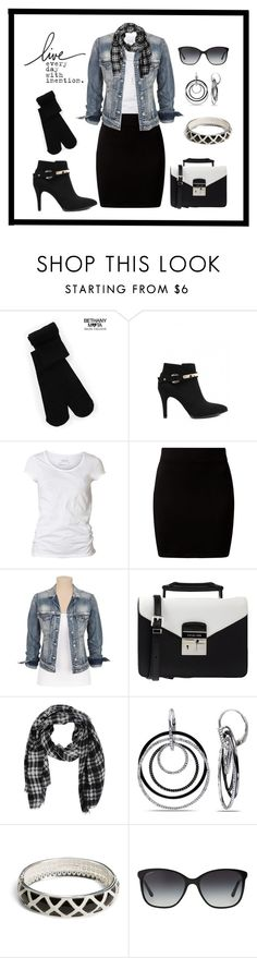 """""""Untitled #404"""" by gallant81 ❤ liked on Polyvore featuring Aéropostale, AllSaints, Silver Jeans Co., MICHAEL Michael Kors, Ice, Vera Bradley and Bulgari"""