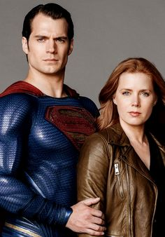 Amy Adams and Henry Cavill as Lois & Clark for Parade Magazine.
