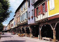 Mirepoix - Ariège dept. - Midi-Pyrénées région, France      ..www.theariegenetwork.com