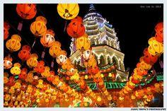 Kek Lok Si Temple. Photo courtesy of Jason Thong Woen Terk.
