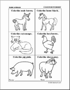 Land Animal Worksheet Pack | Animal worksheets, English worksheets for kids, Missing letter worksheets. May 14, 2019 - The Preschool and Kindergarten Animal ... Animal Worksheets, Letter Worksheets, Preschool Worksheets, Preschool Activities, Summer Activities For Kids, Summer Kids, Primary Teaching, Teaching Resources, Farm Animals Pictures